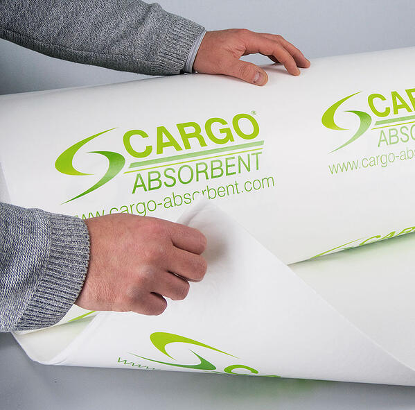 Cargo Absorbent for lining shipping containers