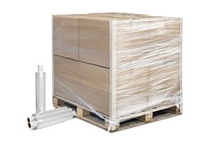 Prestretched Dynawrap palletwrap film - reduce plastic use