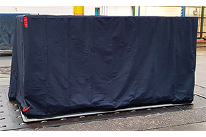 Reusable PMC pallet cover - waterproof and breathable