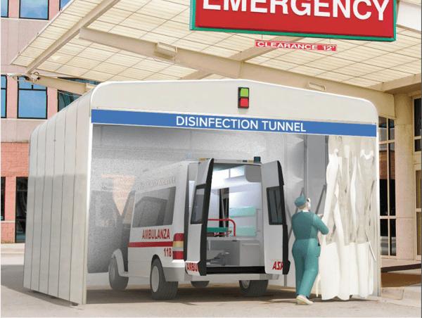 picture Sani Tunnel ambulance