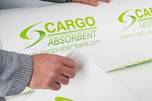 Absorbent sheeting 5 litres per square metre